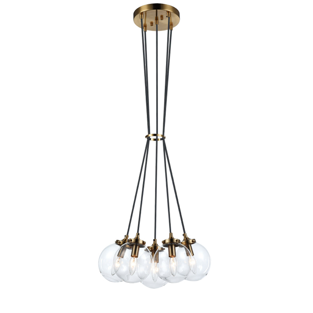 The Bougie 5 Light Chandelier