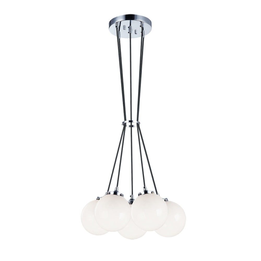 Bougie Chandelier the bougie 5 light chandelier – arevco lighting ottawa