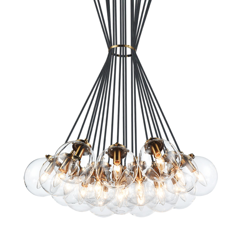 Bougie Chandelier the bougie 19 light chandelier – arevco lighting ottawa
