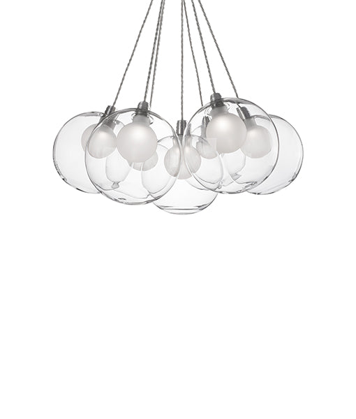 Bolla Seven LED Pendant Bouquet Chandelier