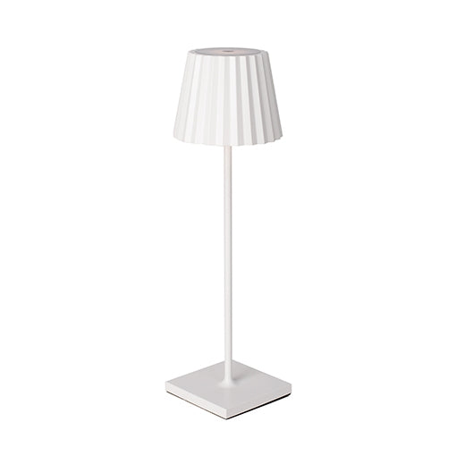 Prim Pleat-look Portable Lamp