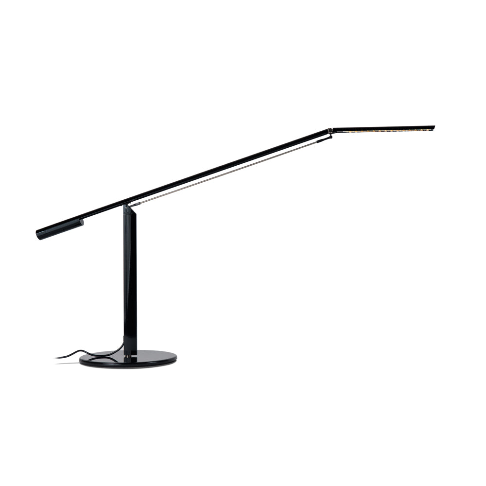 EQUO DESK LAMP, BLACK FINISH LED, KONCEPT