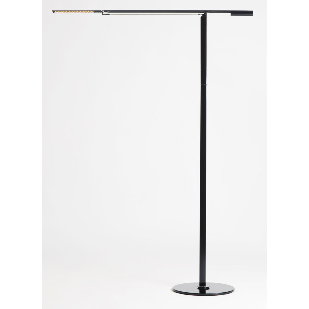 EQUO FLOOR LAMP, CHROME FINISH, LED KONCEPT