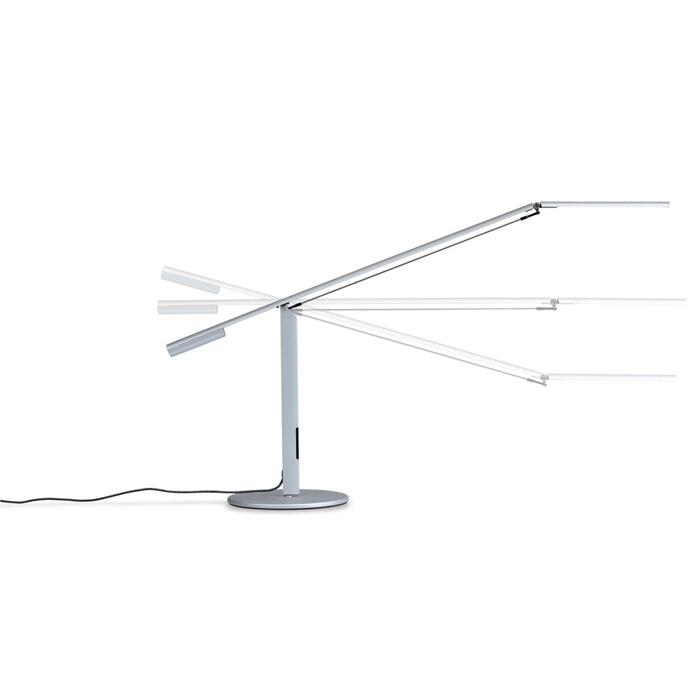 EQUO DESK LAMP, HEAD MOVEMENT DIAGRAM, LED KONCEPT