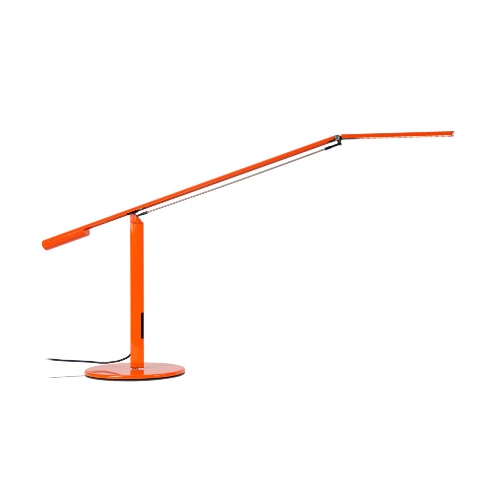 EQUO DESK LAMP, ORANGE FINISH, LED KONCEPT