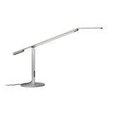 EQUO DESK LAMP, SILVER FINISH, LED, KONCEPT