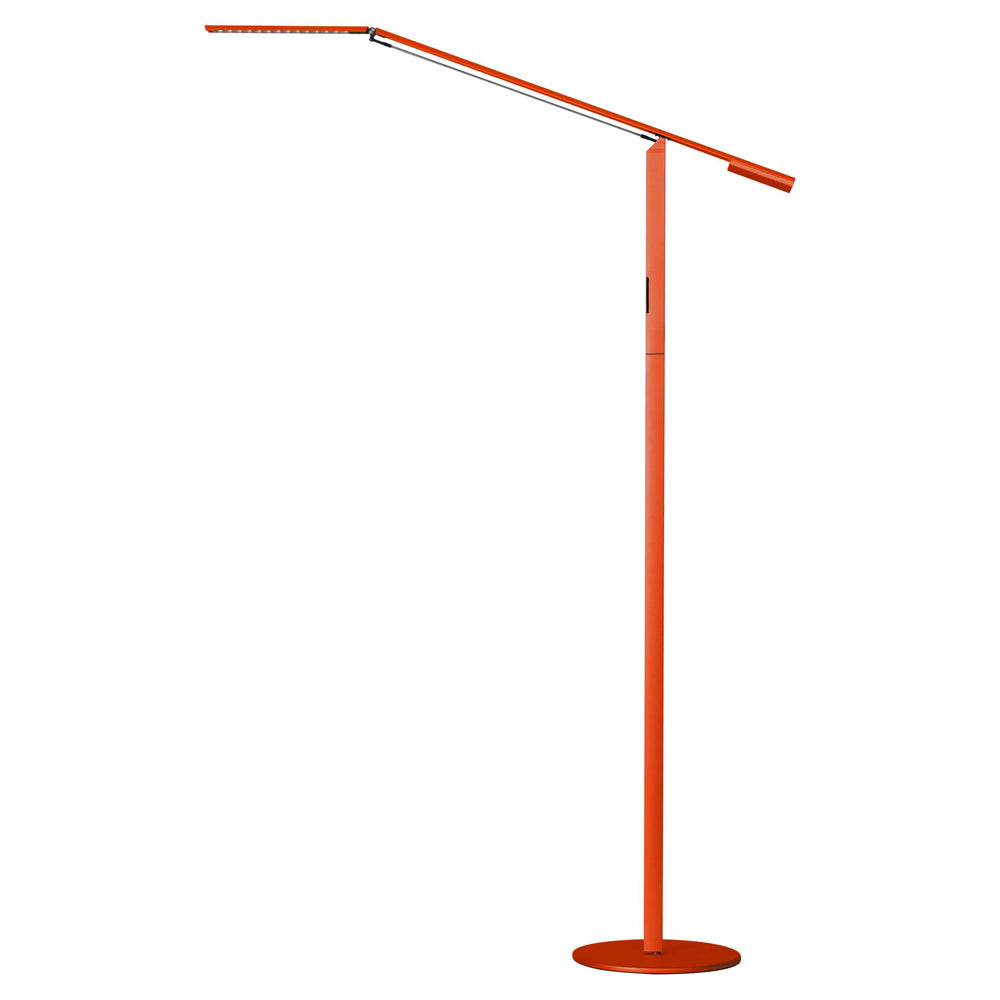 EQUO FLOOR LAMP, ORANGE FINISH, LED, KONCEPT