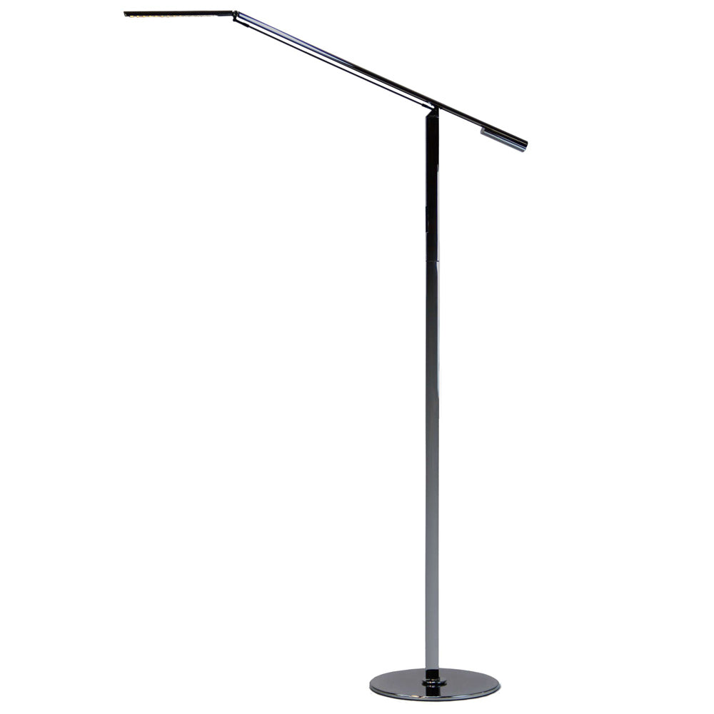 EQUO FLOOR LAMP, CHROME FINISH, LED, KONCEPT