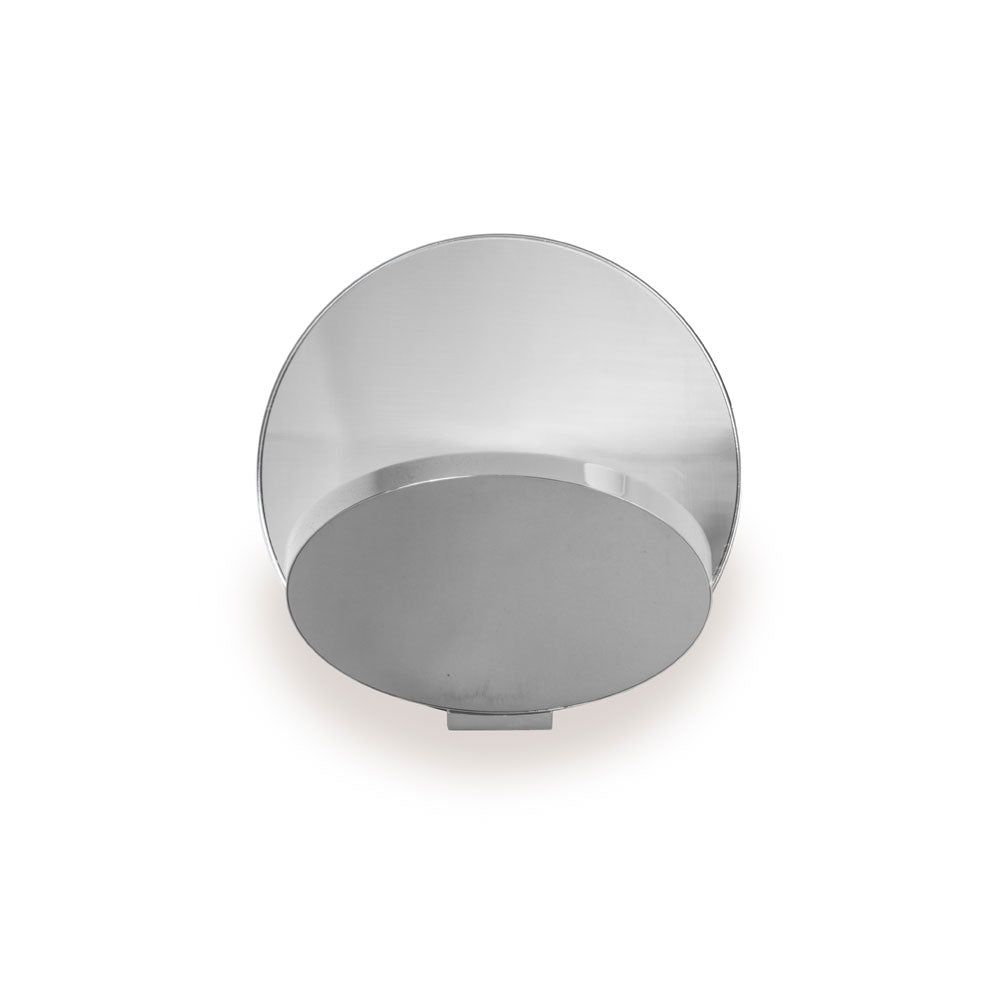 GRAVY LED WALL SCONCE, CHROME/SILVER, KONCEPT