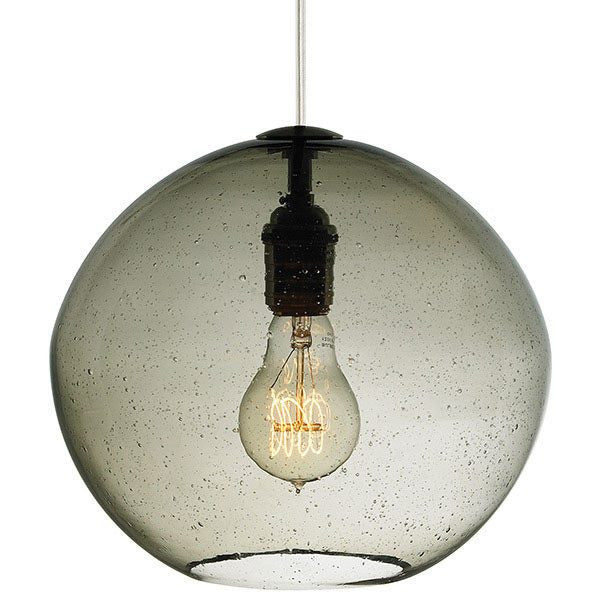 Isla Pendant SMOKE / SATIN NICKEL - 5