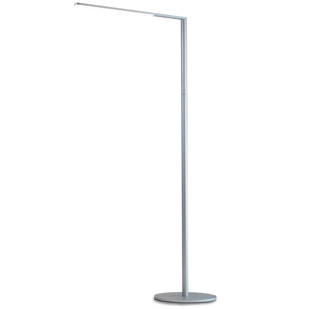 Lady 7 Floor Lamp, LED, Silver, Koncept
