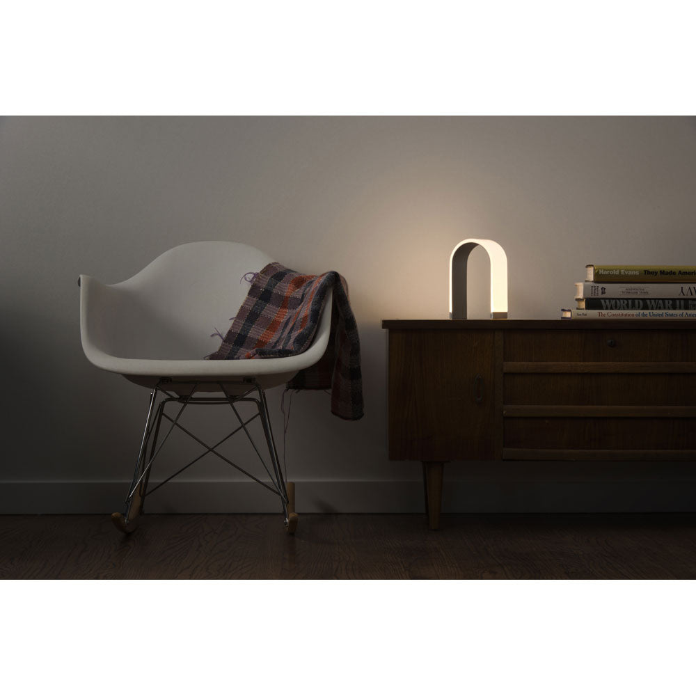 mr. N arched shaped table lamp, LED, Koncept lighting