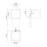 Squircle Wall Sconce