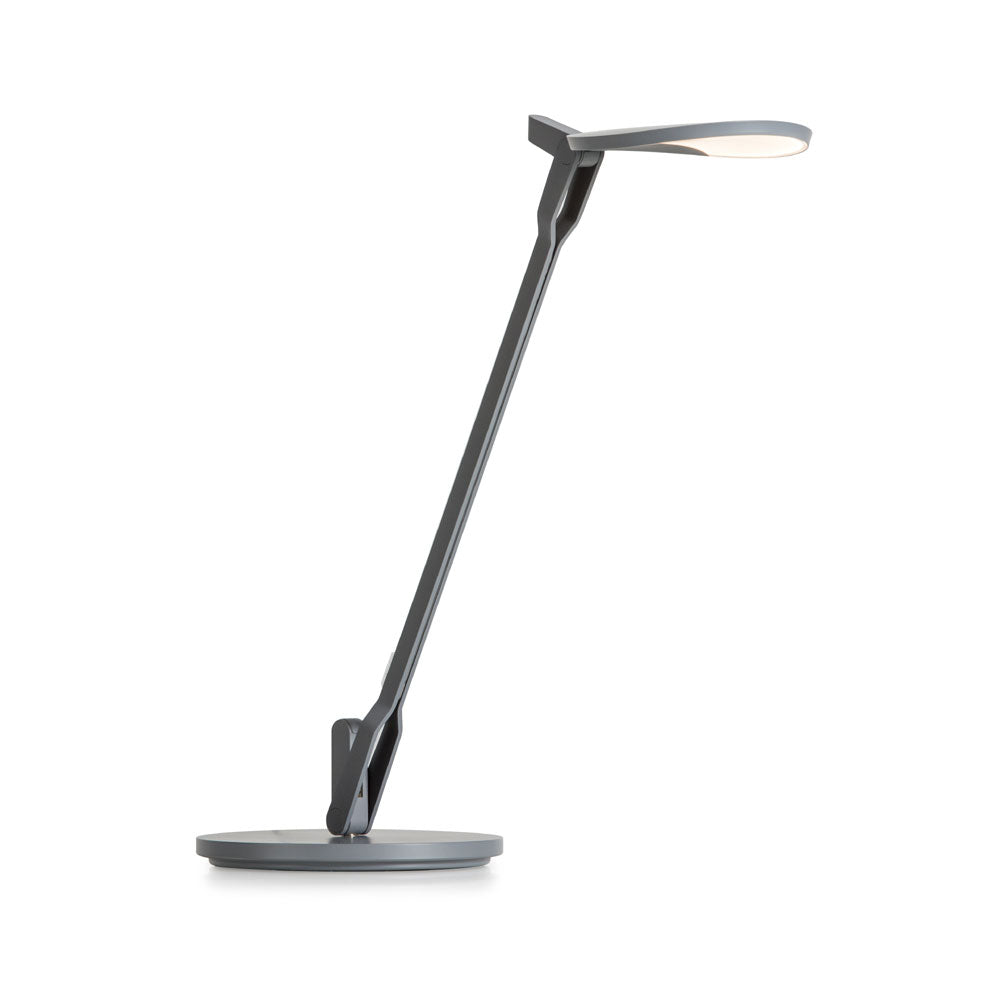 Splitty LED desk lamp, matte grey, Koncept lighting