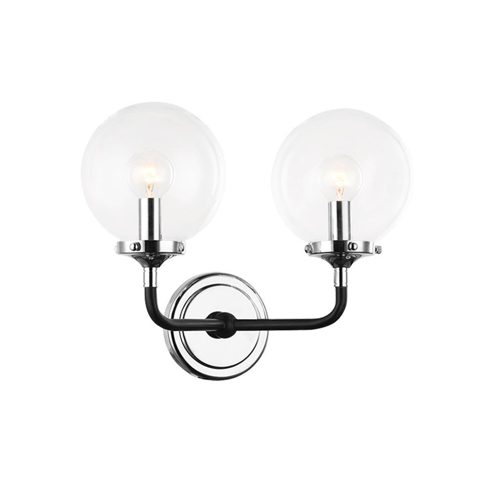 Particles Double Wall Sconce