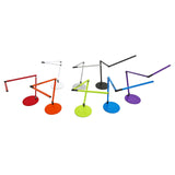 z-bar mini led desk lamp, finish options, red, orange, green, metallic blue, purple, metallic black, silver, white