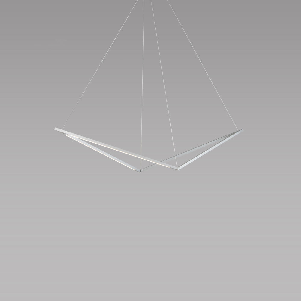 z-bar pendant bird, led, silver, koncept lighting
