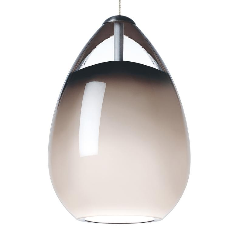Alina Grande Pendant Smoke - Tech Lighting