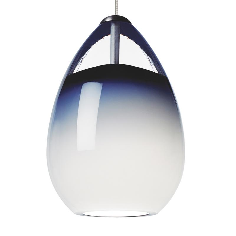 Alina Grande Pendant Steel Blue - Tech Lighting