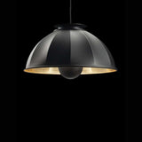 CUPOLA67 Pendant - black shade with gold leaf interior, Venetia Studium, Fortuny Lighting