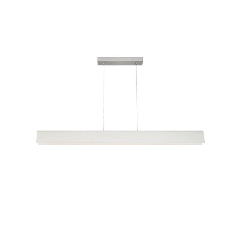 Dobson Linear Suspension - LED - Satin Nickel - Tech Lighting