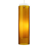 Echo Grande Pendant - Amber Glass - Tech Lighting