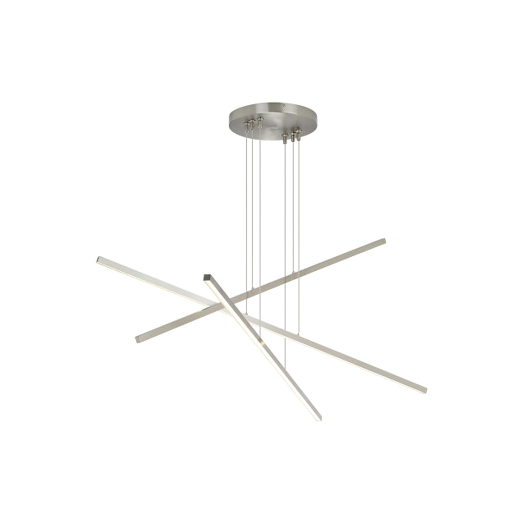 Essence Trio Linear Pendant - Satin Nickel - LED - Tech Lighting
