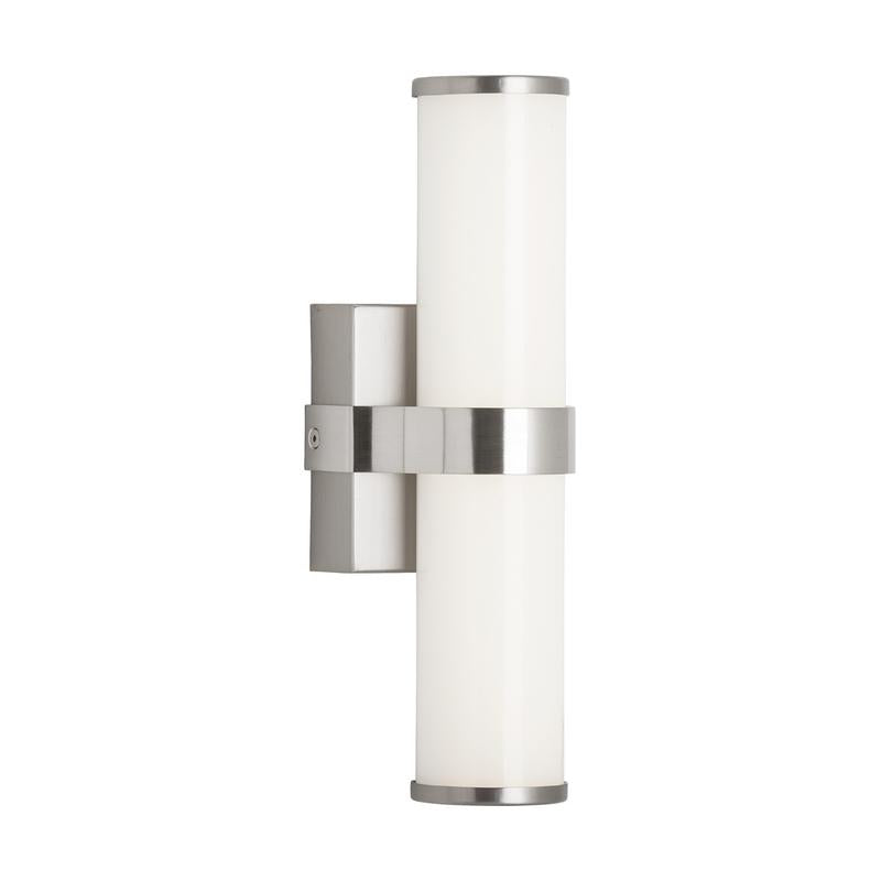 Chrome finish Lynk wall sconce from tech lighting
