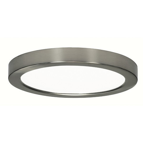 "Blink Flush Mount LED 7"" Satin Nickel - 2"