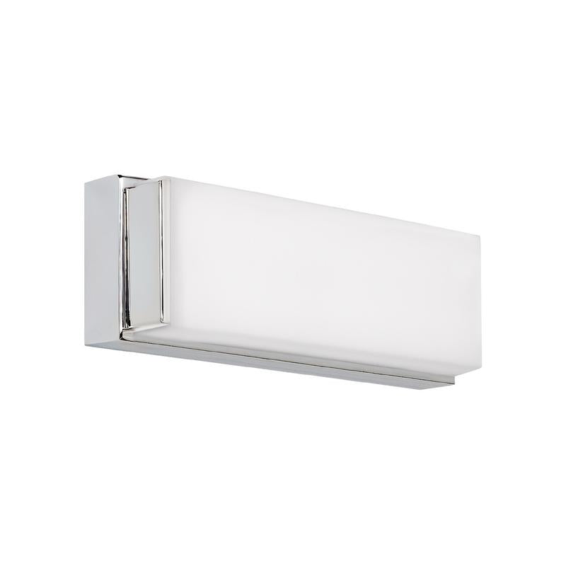 Sage thirteen inch bath/wall light in chrome finish from tech lighting