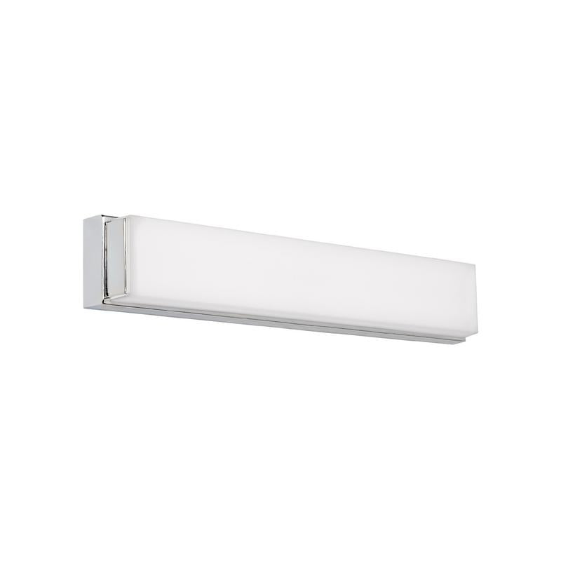 sage 25 inch bath/wall sconce in chrome from tech lighting