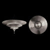 Icaro 3 tier semi flush, silver leaf, venetia studium, fortuny lighting