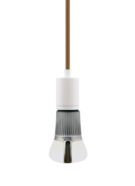 SoCo Pendant Brown Cord / Modern Socket - 2