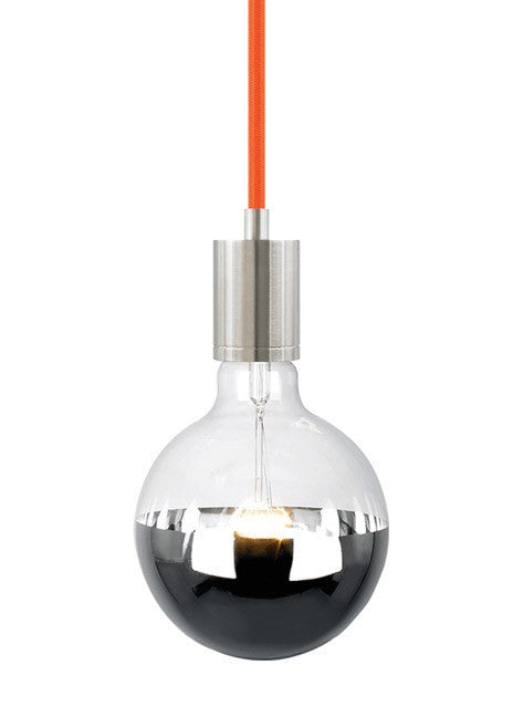 SoCo Pendant Orange Cord / Modern Socket - 6