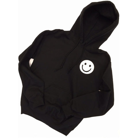 Black Smiley Hoody