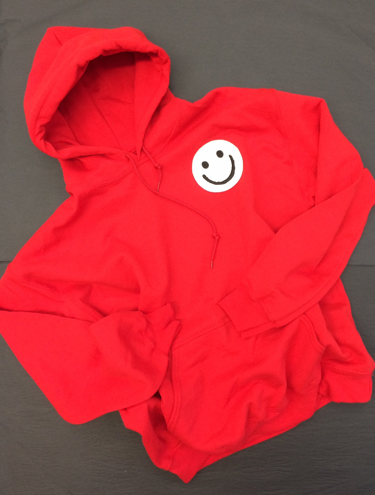 Red Smiley Hoody