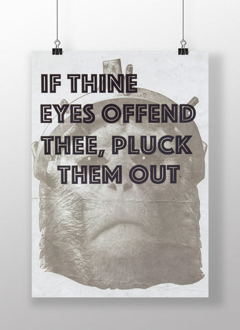 IF THINE EYES OFFEND THEE - Poster