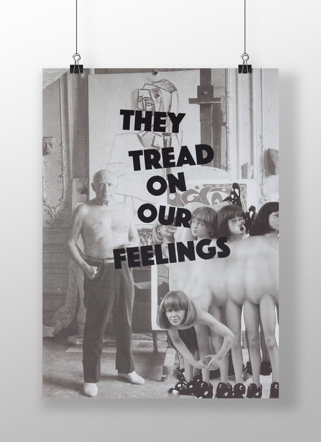 THEY TREAD ON OUR FEELINGS - Poster