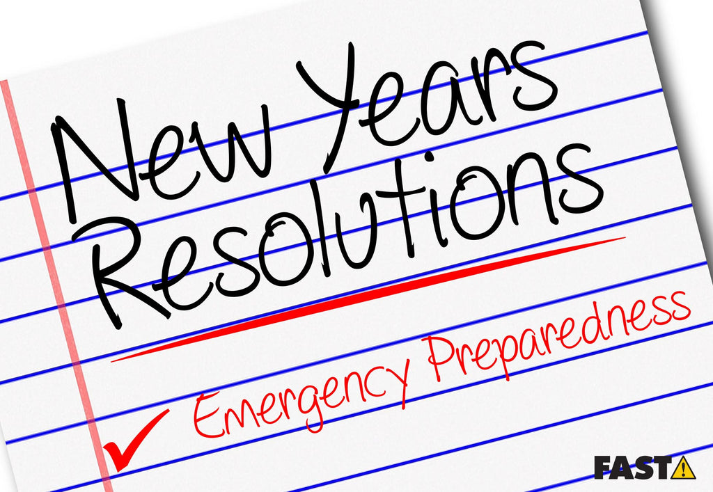 Make Emergency Preparedness Your New Years Resolution!