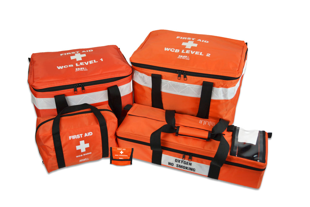 UPDATE - WorkSafeBC Regulated First Aid Kits