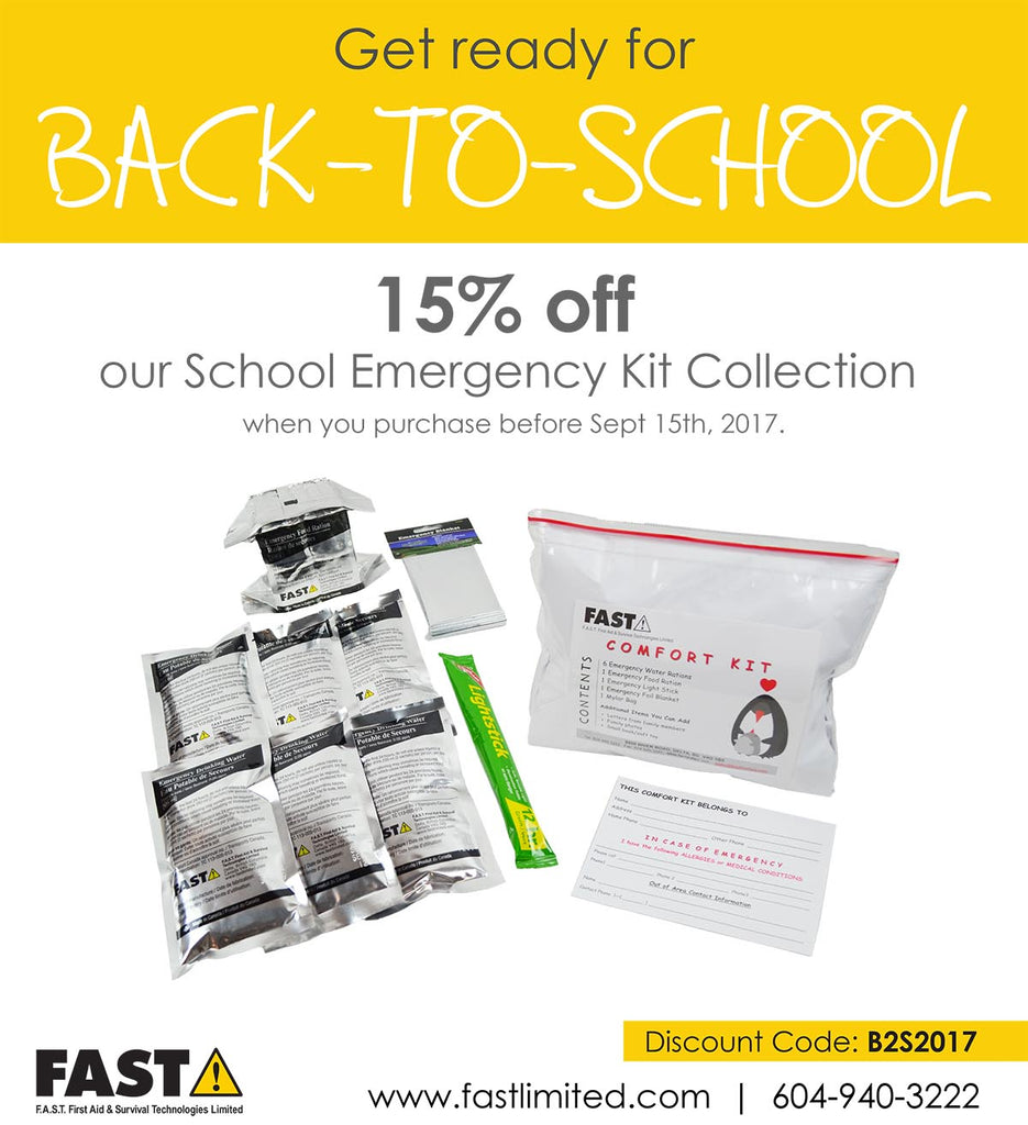 Prepare for Back-to-School with an Emergency Kit