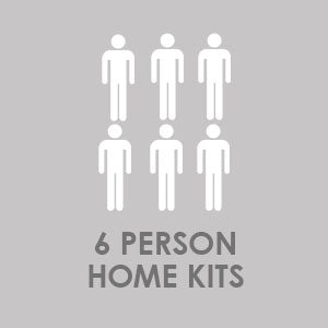 emergency kits for 6 people