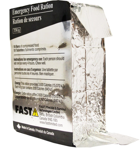 F.A.S.T. Emergency Survival Food Rations