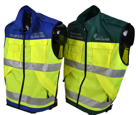 Multi-Purpose High Visibility Identification Vest | Front
