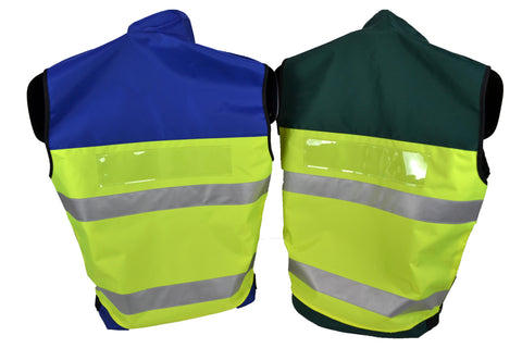 Multi-Purpose High Visibility Identification Vest | Back