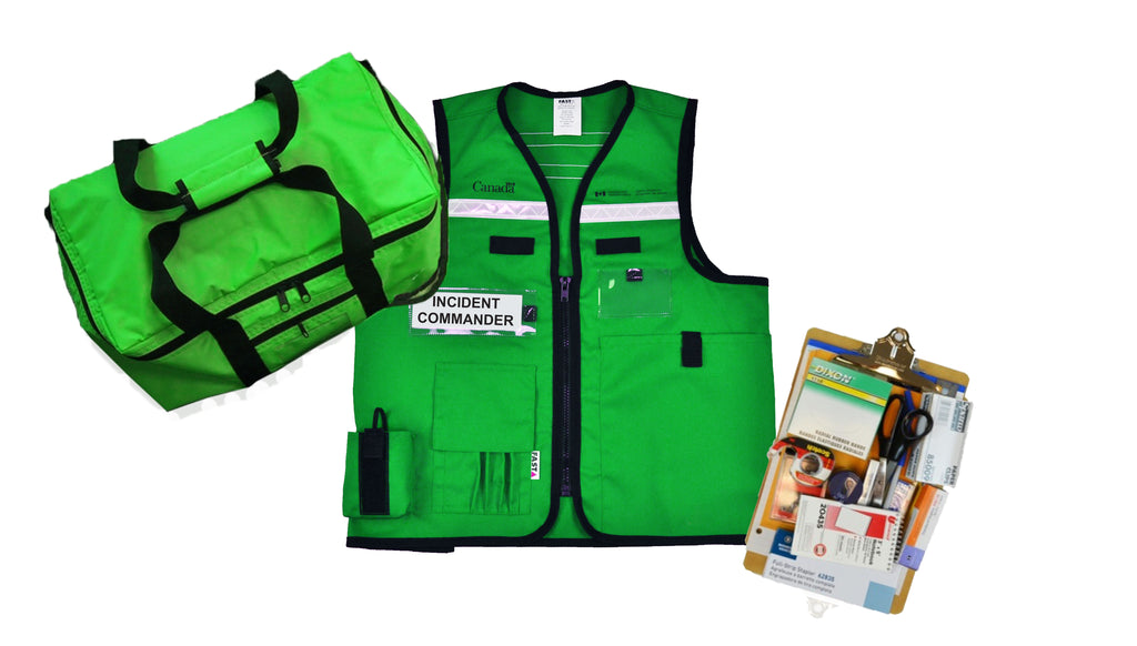 Individual Incident Command Kit | Emergency Management