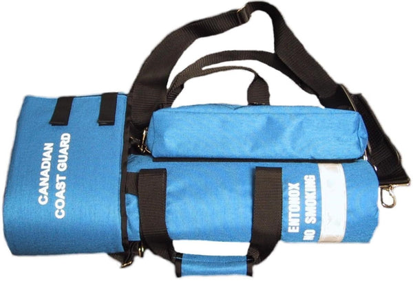D Cylinder Oxygen Entonox Carry Bag F A S T First Aid