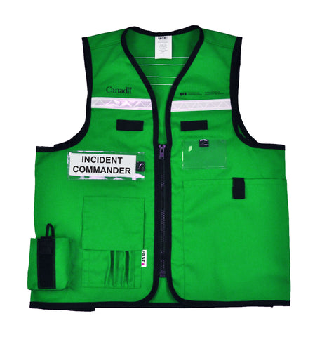 School incident command vests stuff investment bankers dont like