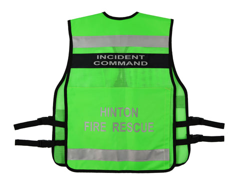 Incident Command Vest Vest1025 Made In Canada Trusted