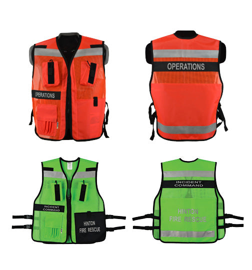 School incident command vests century commercial investment